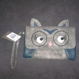 Owl hand purse/wallet